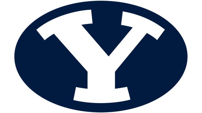 Brigham Young Cougars Logo 2005-heute