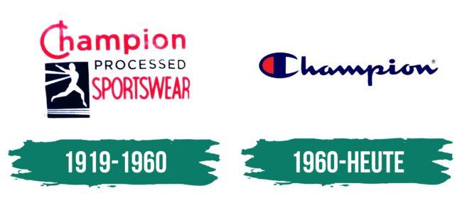 Champion Logo Geschichte
