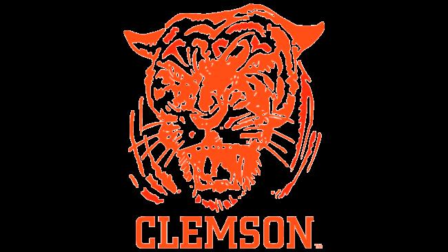 Clemson Tigers Logo 1965-1969