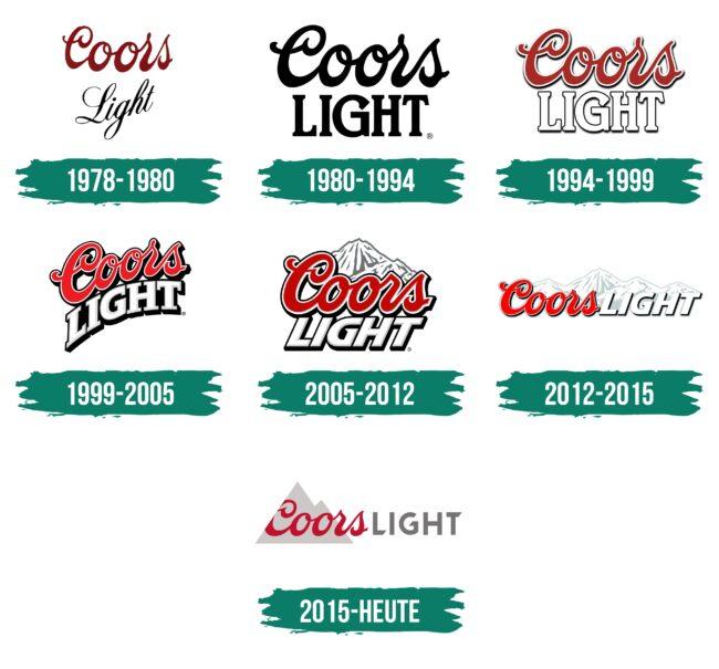 Coors Light Logo Geschichte