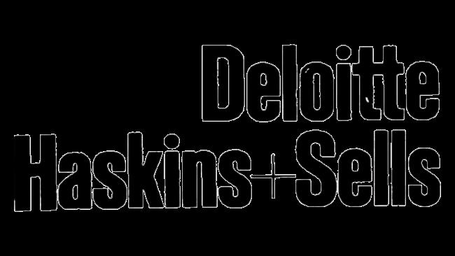 Deloitte, Haskins, & Sells Logo 1972-1989