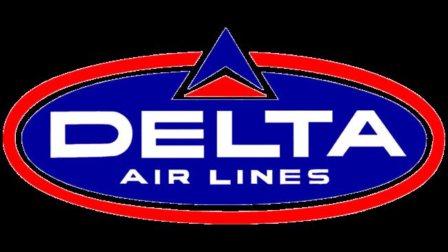 Delta Air Lines (Second era) Logo 1962-1966