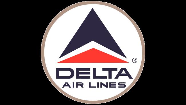 Delta Air Lines (Second era) Logo 1963-1993