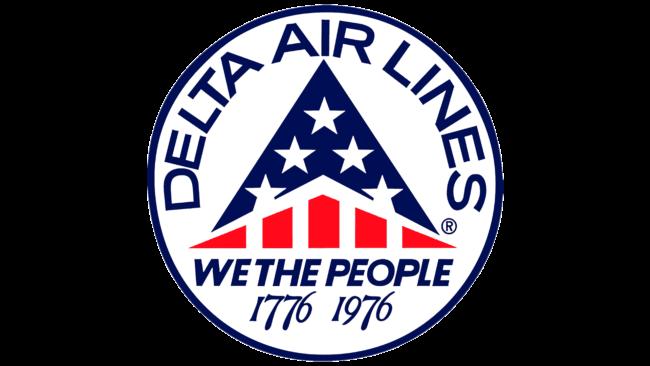 Delta Air Lines (Second era) Logo 1976