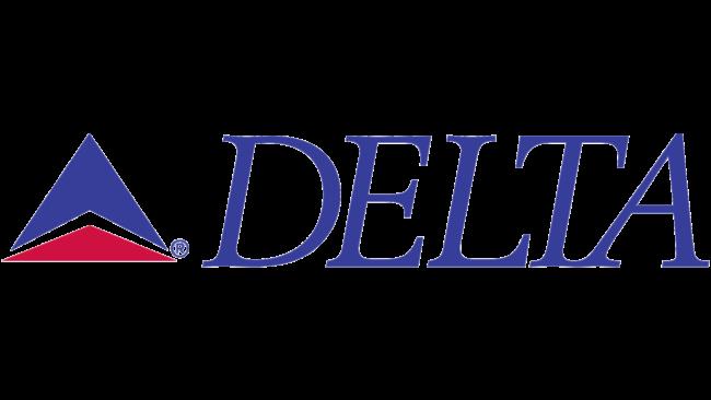 Delta Air Lines (Second era) Logo 1987-1995