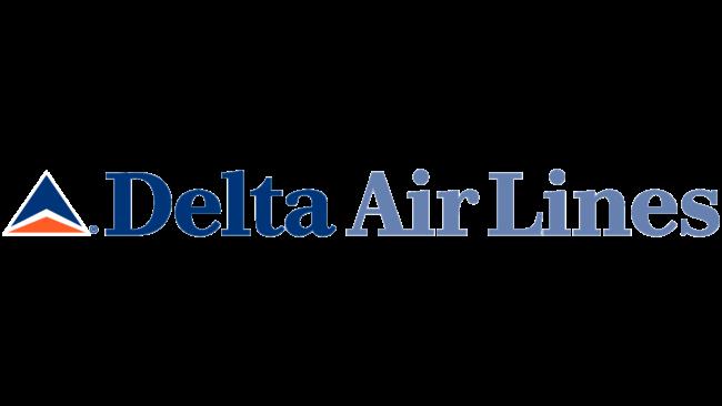 Delta Air Lines (Second era) Logo 1995-2000