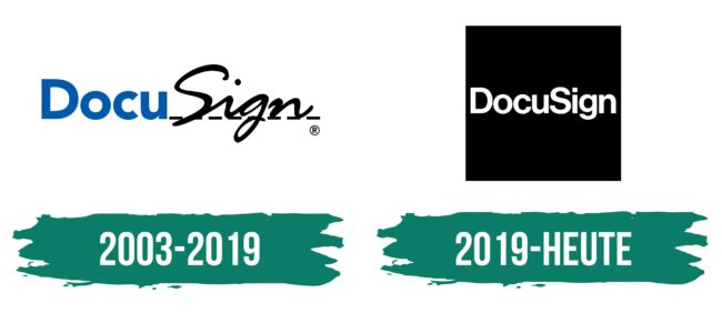 DocuSign Logo Geschichte
