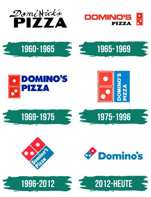 Dominos Logo Geschichte