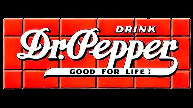 Dr. Pepper Logo 1934-1954