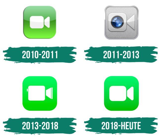 FaceTime Logo Geschichte