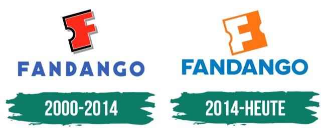 Fandango Logo Geschichte