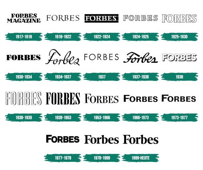 Forbes Logo Geschichte