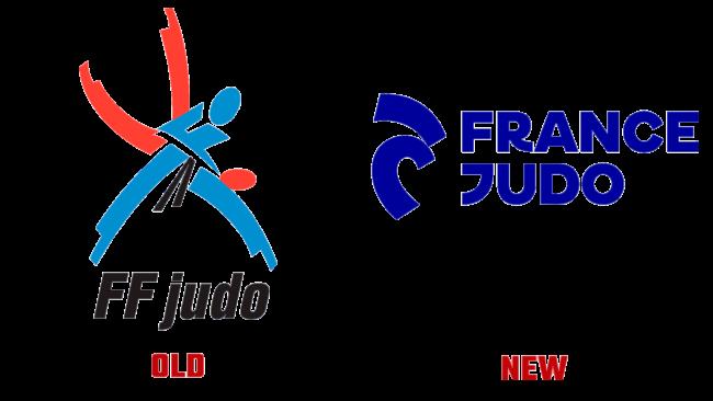 France Judo Altes und Neues Logo (Geschichte)