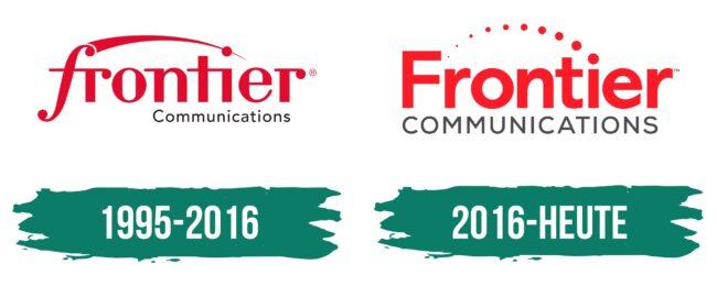 Frontier Communications Logo Geschichte