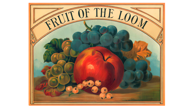 Fruit of the Loom Logo 1893-1927