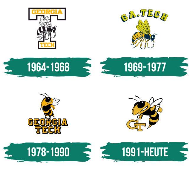Georgia Tech Yellow Jackets Logo Geschichte