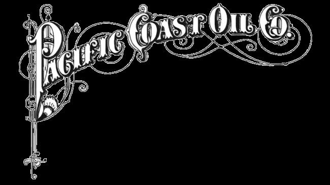 Pacific Coast Oil Company Logo 1879-1906
