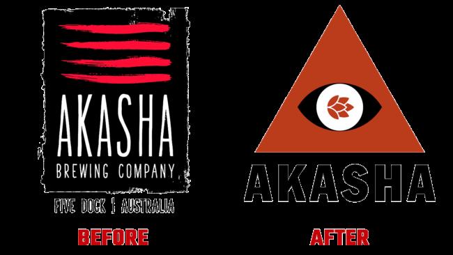 Akasha Vorher und Nachher Logo (Geschichte)