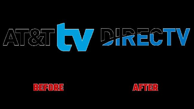 DirecTV Vorher und Nachher Logo (Geschichte)