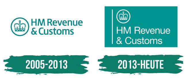 HMRC Logo Geschichte