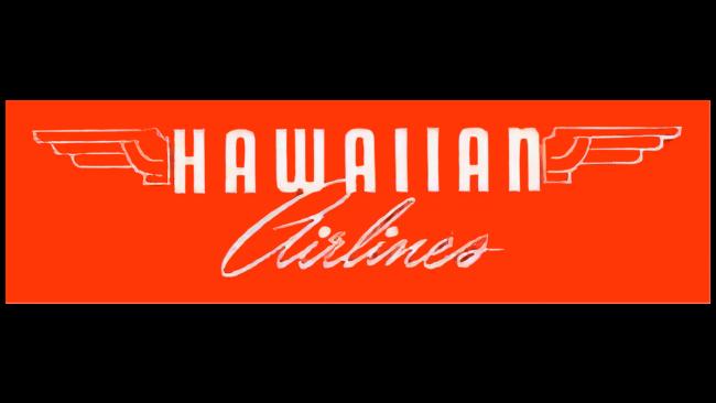 Hawaiian Airlines Logo 1950-1953