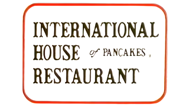 International House of Pancakes Logo 1982-1992