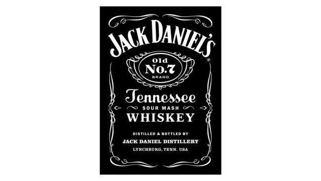 Jack Daniels Logo 2011-heute