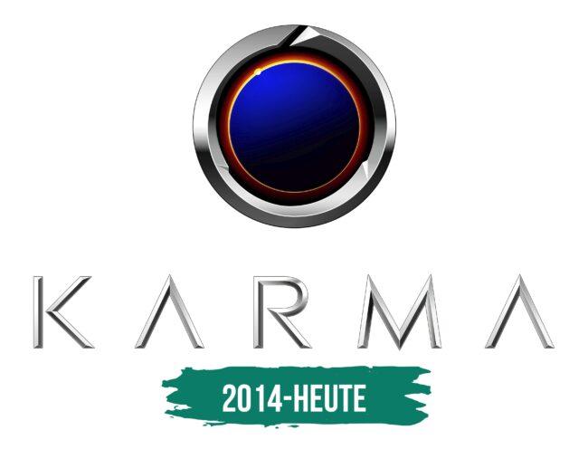 Karma Logo Geschichte