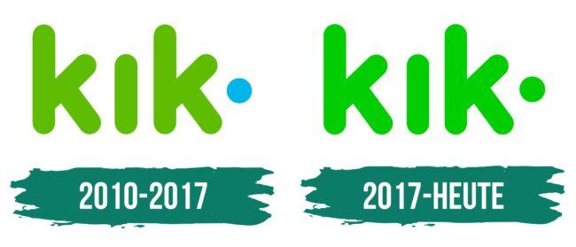 Kik Messenger Logo Geschichte