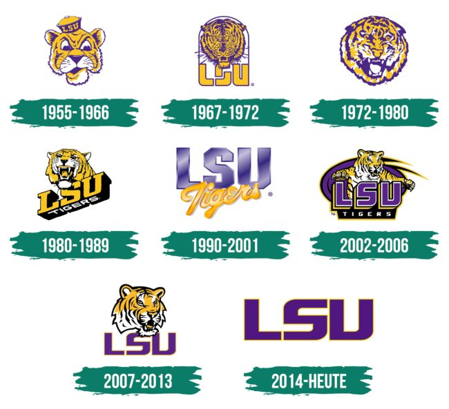 LSU Logo Geschichte