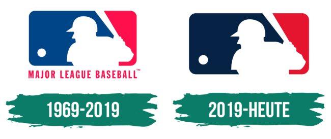 MLB Logo Geschichte