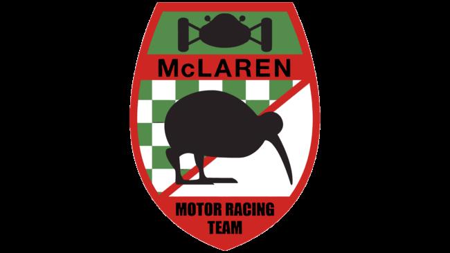 McLaren Motor Racing Team Logo 1963-1967