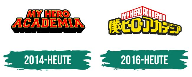 My Hero Academia Logo Geschichte