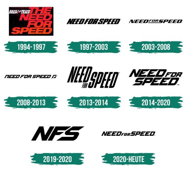 Need For Speed Logo Geschichte