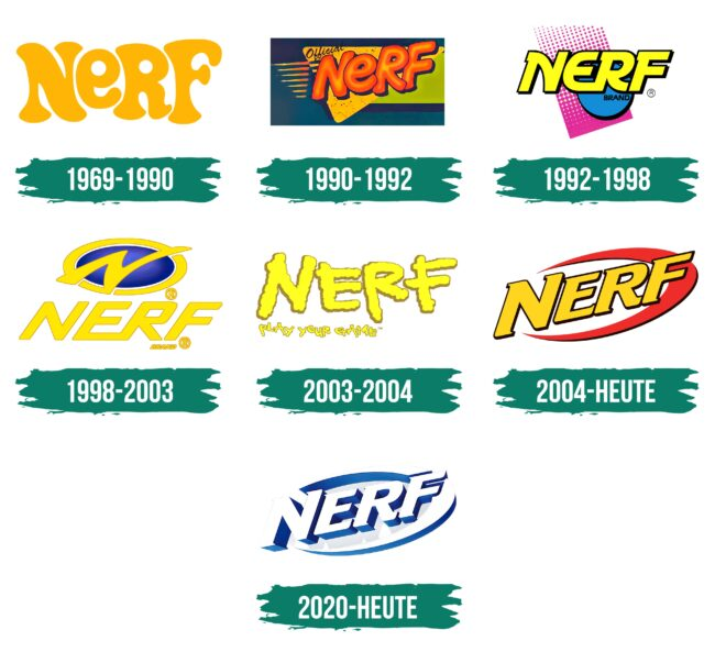 Nerf Logo Geschichte