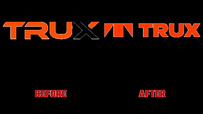 Trux Vorher und Nachher Logo (Geschichte)