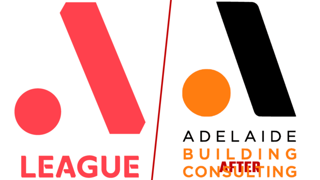 A League und Adelaide Building Consulting Logo