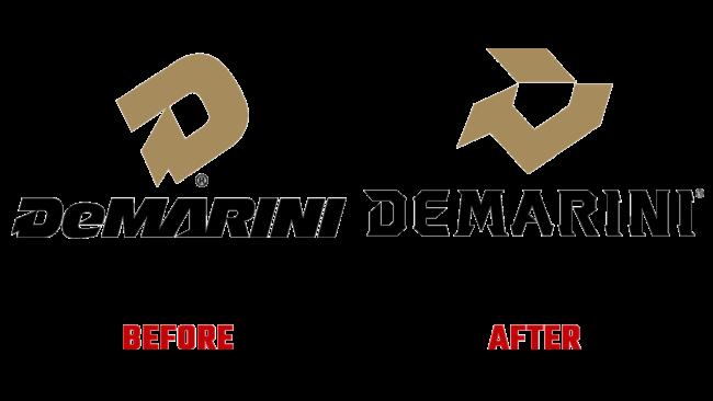 DeMarini Vorher und Nachher Logo (Geschichte)