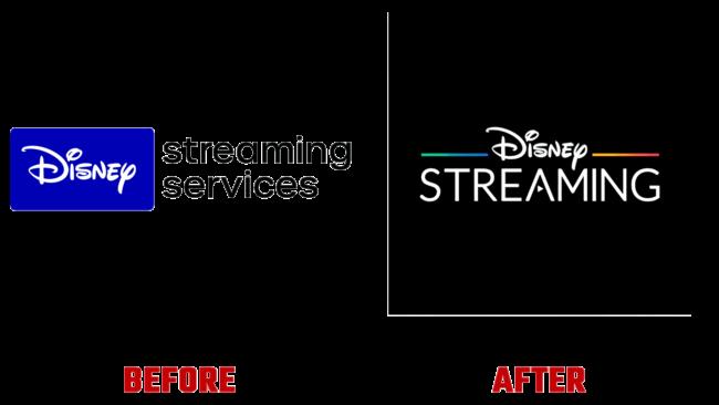 Disney Streaming Vorher und Nachher Logo (Geschichte)