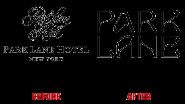 Park Lane Vorher und Nachher Logo (Geschichte)