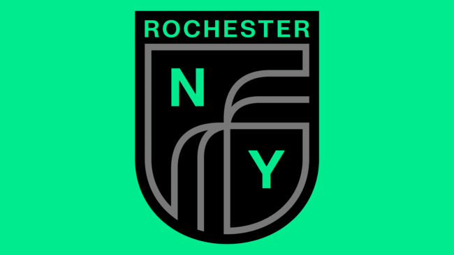 Rochester New York FC Neues Logo